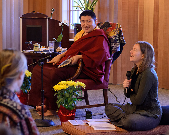 Phakchok Rinpoche at Old Union