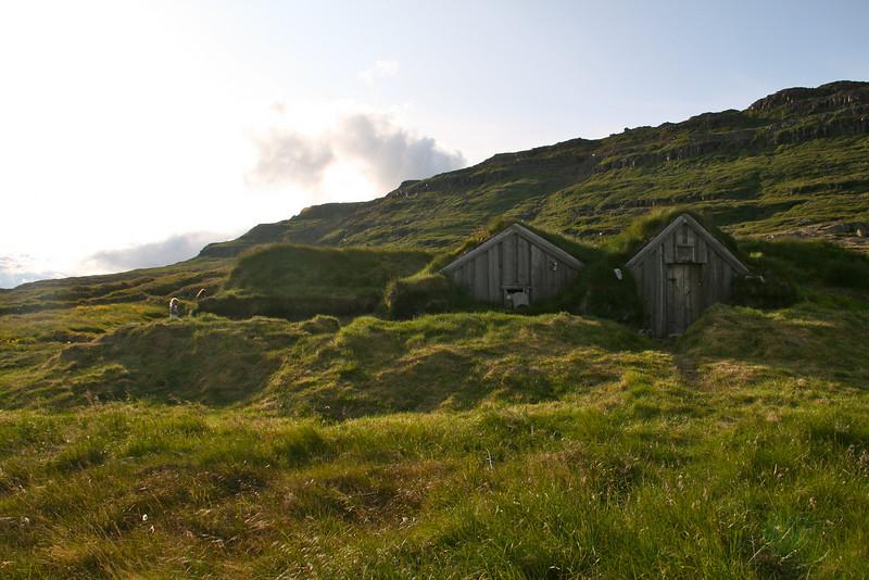 Sorcerer's cabin, West Fjords, Iceland.