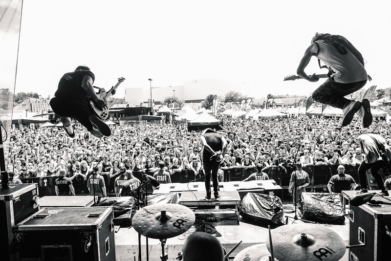 The Word Alive in Hartford, CT on Vans Warped Tour 2016