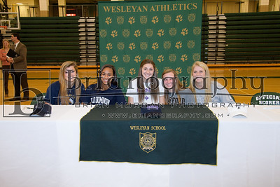 2017-18 Fall Athletic Signing