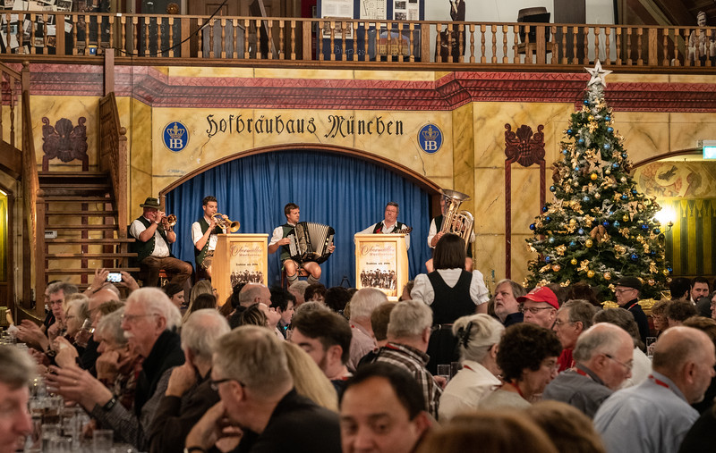 Die Obermuller, the house band