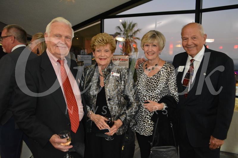 Bob and Liz Craven with Lynn and Joe Thompson