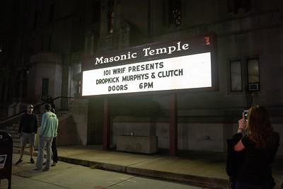 Sept 29, 2019 - Dropkick Murphys, The Masonic Detroit