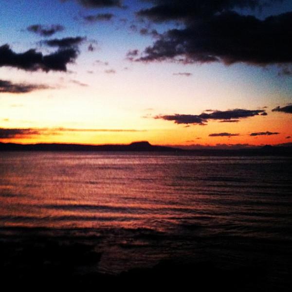 Sunset in Rethymnon, Crete