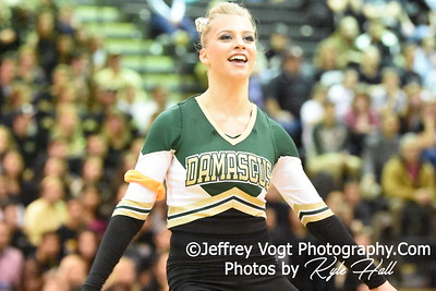2-13-2016 Damascus HS Varsity Poms at Blair HS MCPS Championship, Photos by Jeffrey Vogt Photography with Kyle Hall