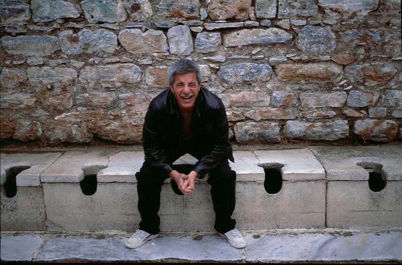 ancient Roman toilets