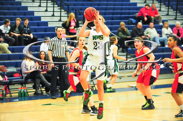 1-29-2014 Heritage at Woodgrove Girls Basketball (Varsity)