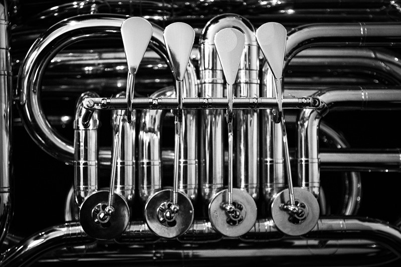 Tuba Noir: Rotors and Keys