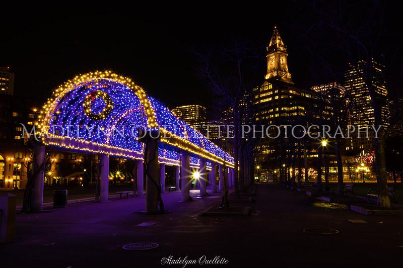 Festive Christopher Columbus Park