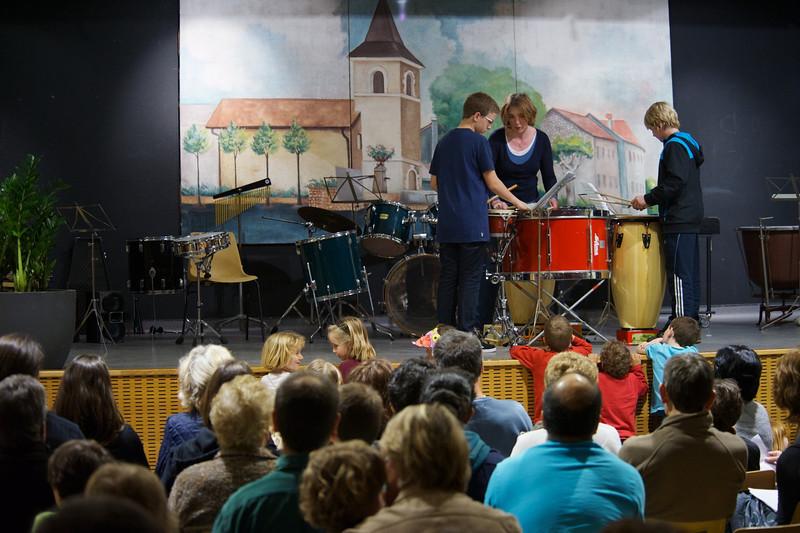 Audition école de musique 2012