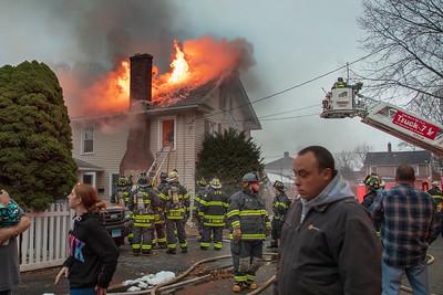 Thomas St. Fire (Ansonia, CT) 11/18/18