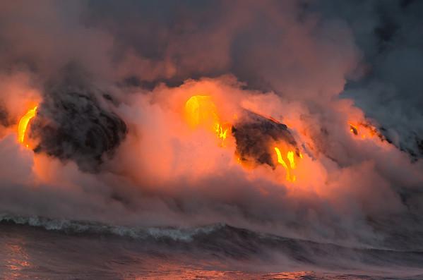 Lava by Ocean