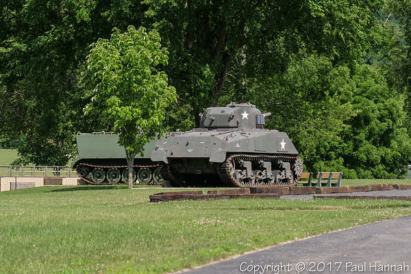 Camp Sherman - Chillicothe, OH - M4A3(75) & M106