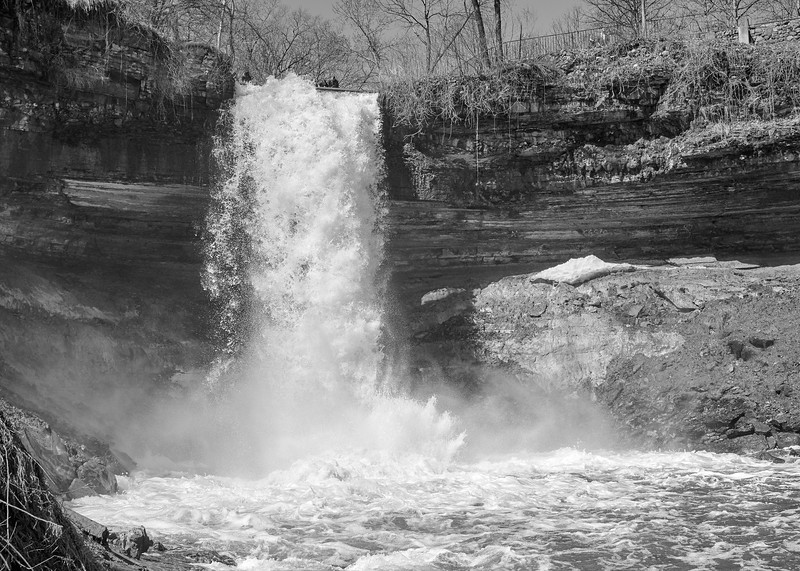 Minnehaha Falls in Minneapolis