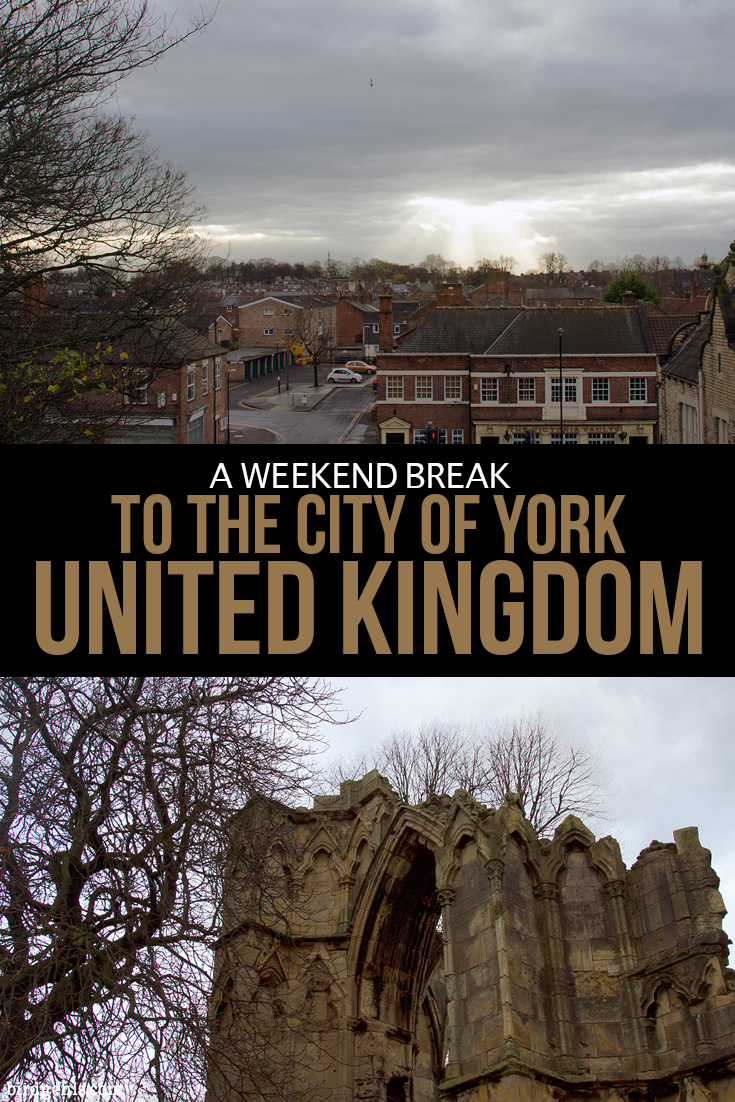 Want to get out of the big city and head somewhere quiet and fun in the United Kingdom? A York weekend break may just be exactly what you need. Here are some ideas of what you can do over a two day period and where to stay. / UK Weekend Breaks / York Itinerary / #England / #York / #Yorkshire /