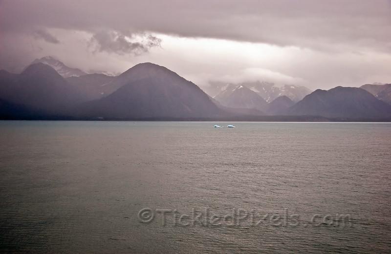 Glacier Carved Mountains near Yakutut Bay