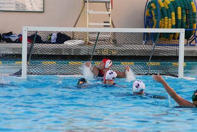Santa Barbara vs San Marcos 1/6/09. Final score 8 to 4. SBHS vs SMHS. Photos by Allen Lorentzen.
