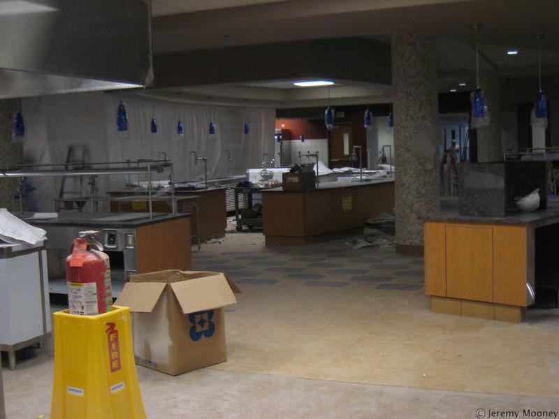 Kitchen/serving area
