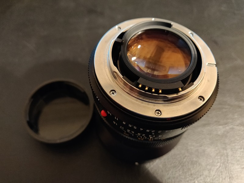 Leica R Summilux 50 mm 1.4 I - Converted to Nikon Mount - Serial 2806020 009.jpg