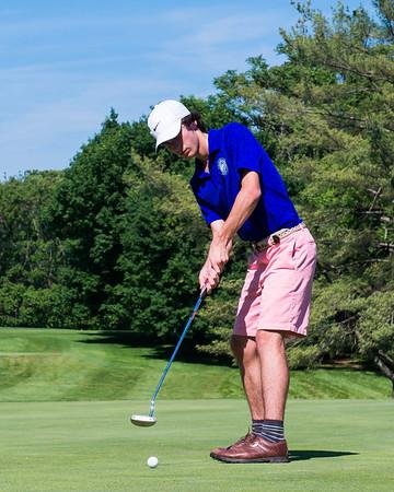 Covenant versus Blue Ridge golf 2017