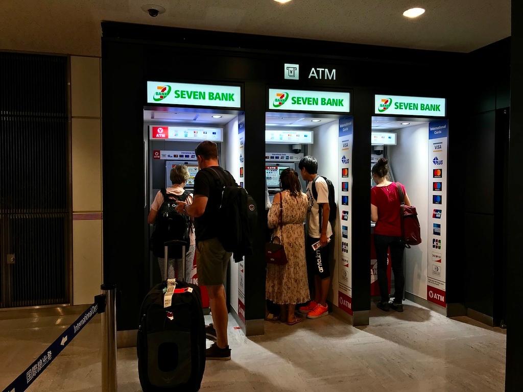 Seven Bank ATMs.