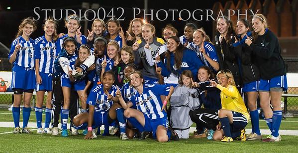 MHS 2012 Varsity Girls Soccer individual and Team photos