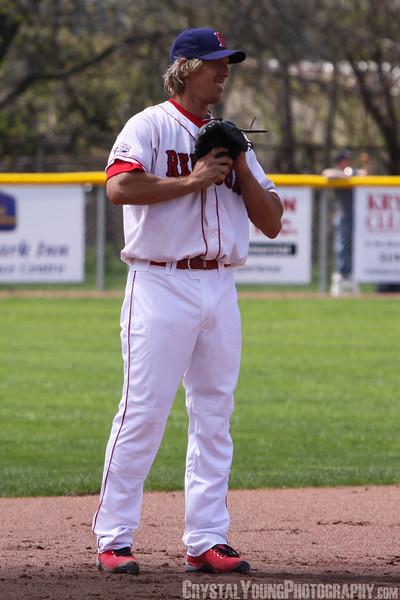 Hamilton Thunderbirds at Brantford Red Sox May 7, 2011