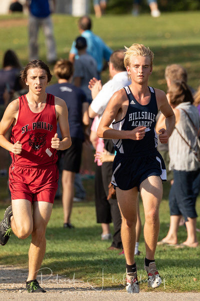 2018-10-03 Hillsdale Academy Junior High and Varsity Cross Country at Litchfield
