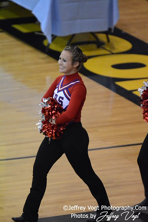02-01-2014 Wootton HS Poms MCPS County Championship Division 1,  Photos by Jeffrey Vogt Photography & Kyle Hall