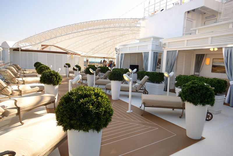 Relax your cares away at The Sanctuary on Royal Princess