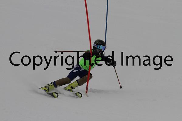 U16 Men Slalom 2/10 Run 2