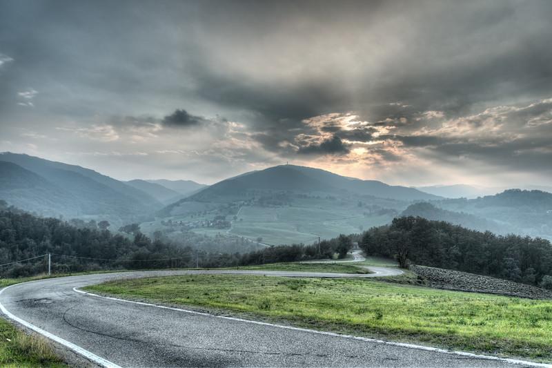 Strada Provinciale 74 - Regnano, Viano, Reggio Emilia, Italy - October 18, 2014
