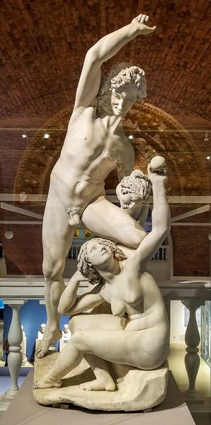 Italian Renaissance statue at the Hermitage, St. Petersburg, Russia.