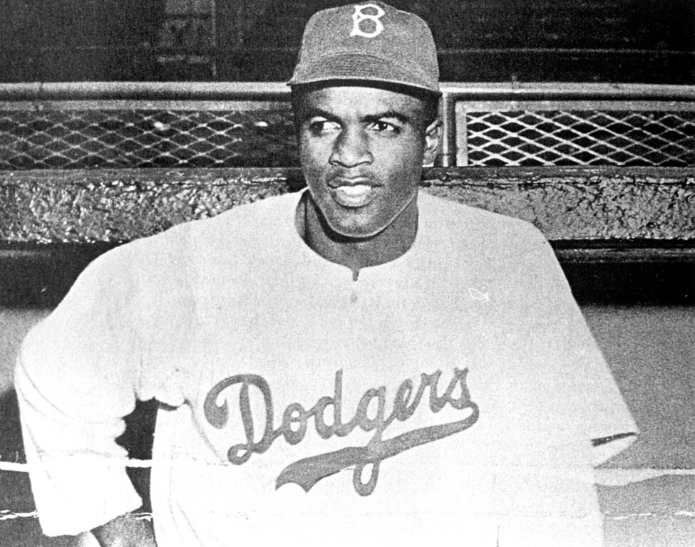 . Jackie Robinson  (Los Angeles Daily News file photo)