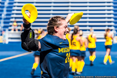9-18-16 Michigan Field Hockey Vs Central Michigan