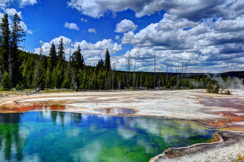 Abyss Pool at Yellowstone National Park