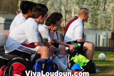 Boys JV: Woodgrove at Broad Run Soccer (4-10-2013 by Jeff Vennitti)