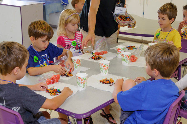 Snacks, In Classrooms and Kitchen (of course)