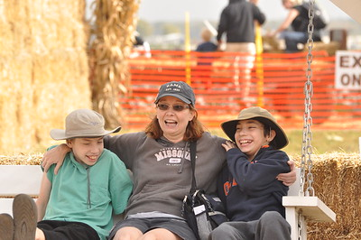 At the Pumpkin Patch - 2011