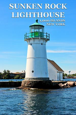 Sunken Rock Lighthouse, New York