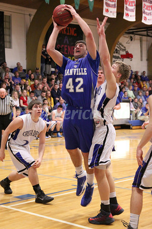 Boys Basketball, Danville vs Holy Trinity 1/24/2014