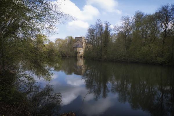 1 km de printemps confiné sur les rives de la Sarthe