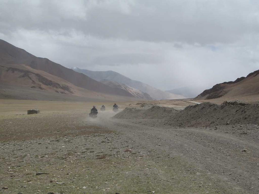 Retour over Manali Leh Highway