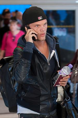 Swedish DJ AVICI seen in LAX