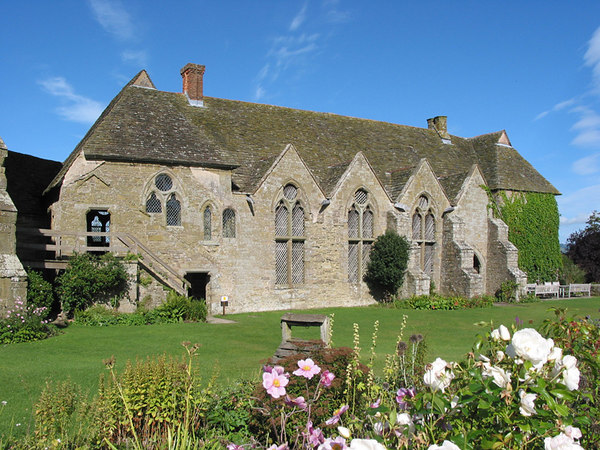 Yet another view of Stokesay Castle, Ludlow.