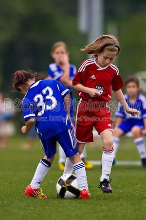 FVAA RED STAR JRS G vs TWIN CITY NORTH CAROLINA G - GIRLS 6V6 5/13/2012
