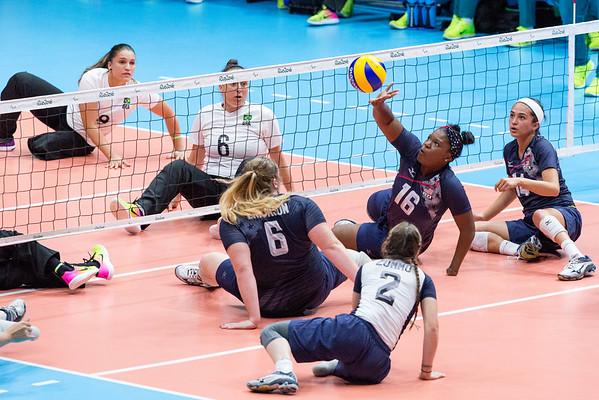 9-15-2016 Women's USA vs. Brazil