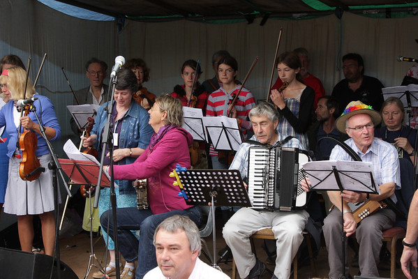 Sidmouth Big Band Performance