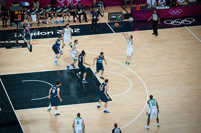London 2012 Olympics Men's Basketball Quarter Finals