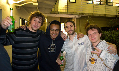 06/28/2010 - Last Party Night In Auckland